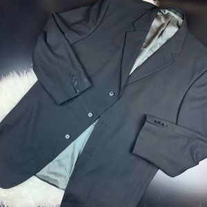 Givenchy men's blazer dark gray